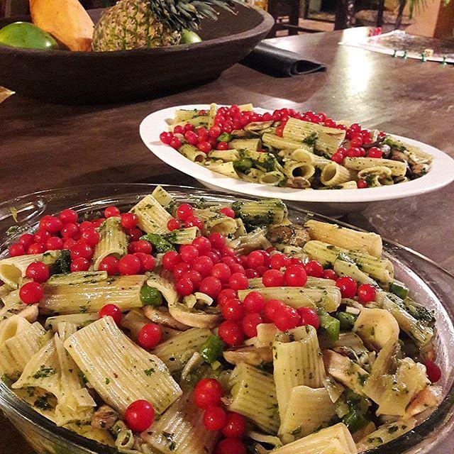 Rigatoni con Vegetales